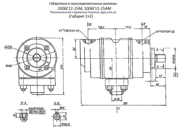 Насос 100БГ12-25М, 100БГ12-25АМ