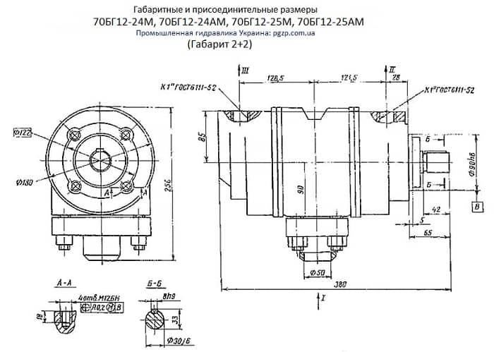 Насос 70БГ12-24М, 70БГ12-24АМ, 70БГ12-25М, 70БГ12-25АМ