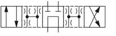 Гидрораспределитель Рн203 64 - схема фото 1